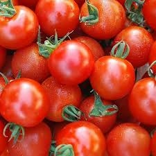 tomate cerise ronde rouge